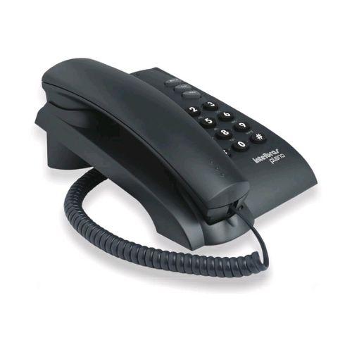 Telefone com Fio Pleno Preto - Intelbrás