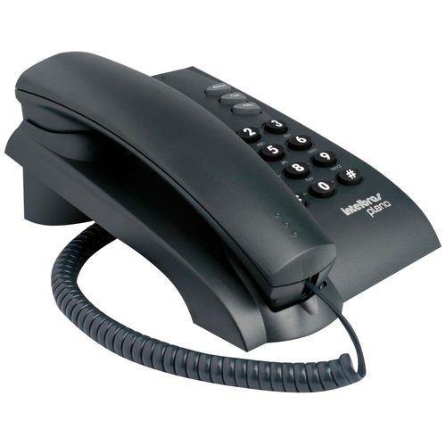 Telefone com Fio Pleno Preto Intelbras