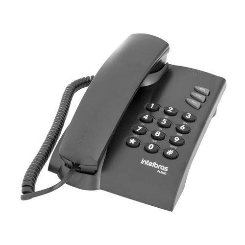Telefone com Fio Pleno Sem Chave Intelbras