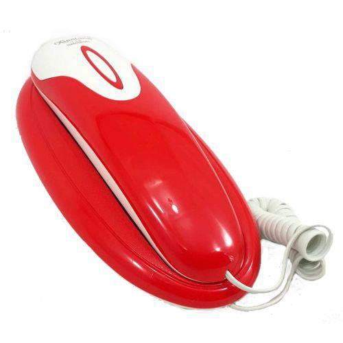Tudo sobre 'Telefone de Mesa/parede Gondola com Fio Vermelho'