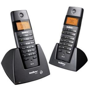 Telefone em Fio Intelbras TS60 C + Ramal - Preto