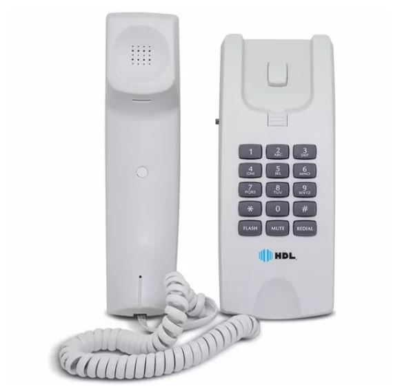 Telefone HDL Gôndola Centrixfone RJ11 60Hz 90.02.01.250 Branco