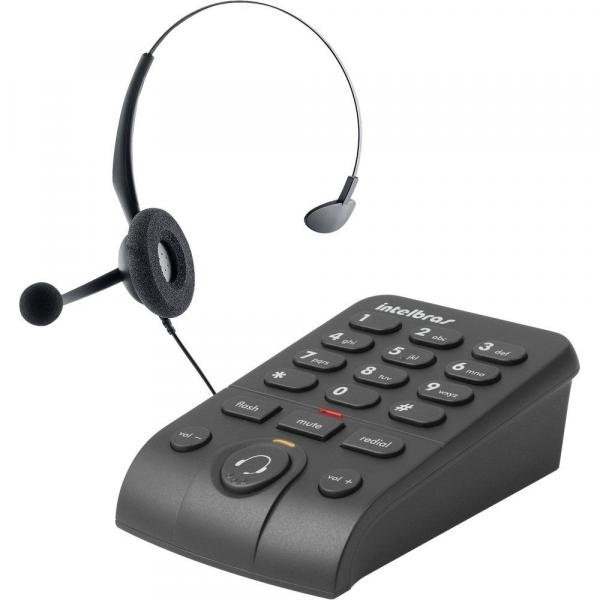 Tudo sobre 'Telefone Headset Intelbras Hsb50'