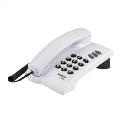 Telefone Intelbras com Fio Pleno Cinza Artico