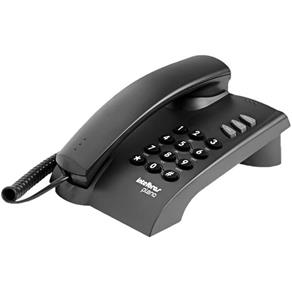 Telefone Intelbras com Fio Pleno Preto - 4080051