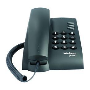 Telefone Intelbras Pleno Sem Chave com Fio