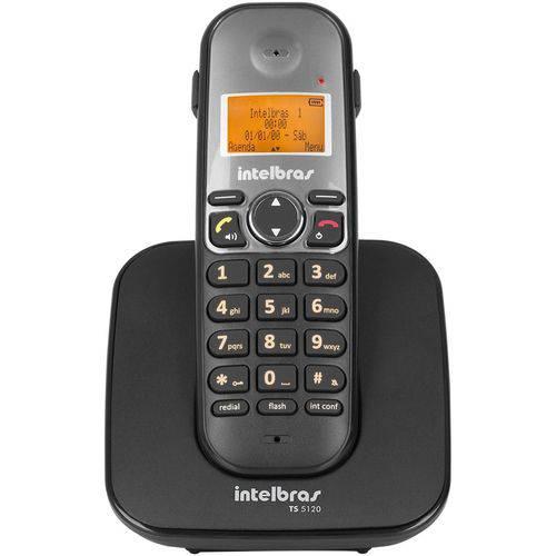 Telefone Intelbras Sem Fio Ts 5121 Ramal - Preto - 4125121