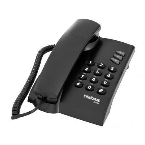 Telefone Pleno C/chave Grafite 4080057 Intelbras