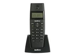 Telefone Ramal Intelbras Sem Fio TS40 R Preto - 4070352