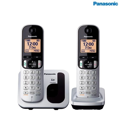Tudo sobre 'Telefone Sem Fio + 1 RAMAL KX-TGC212LB1 Panasonic'