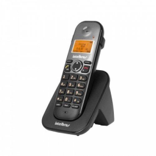 Telefone Sem Fio Ts 5121 Preto Ramal Intelbras