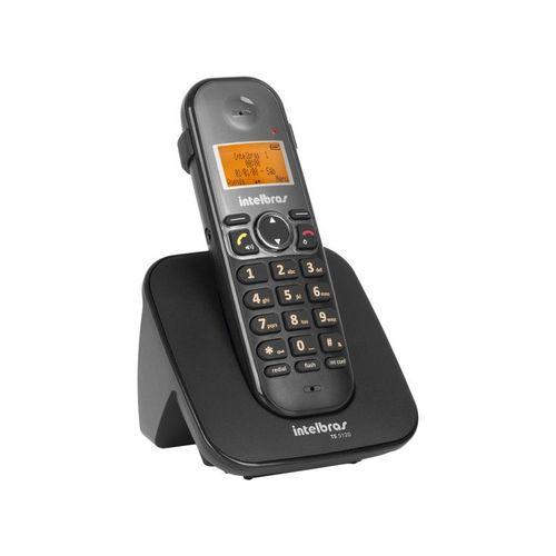 Telefone Sem Fio Ts 5121 Ramal Preto Intelbras
