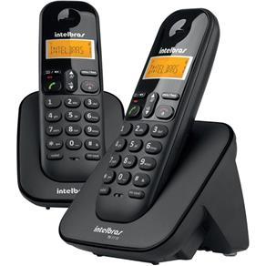 Telefone Sem Fio Ts3112 com Id e 1 Ramal Preto Intelbras
