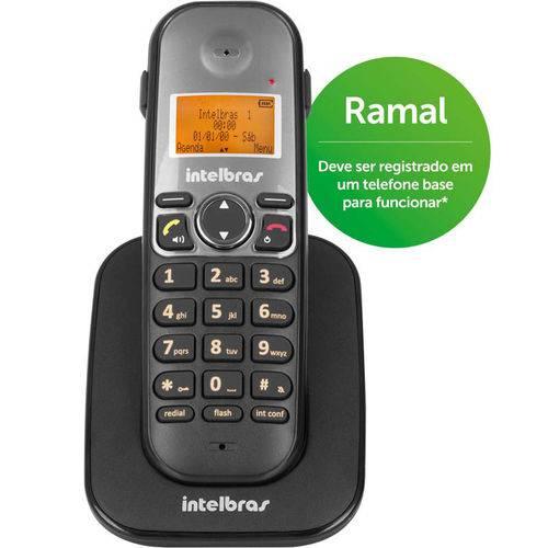 Telefone Sem Fio Ts5121 Ramal Preto Intelbras