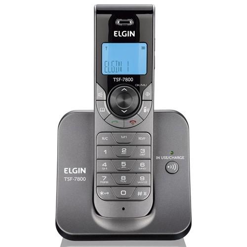 Tudo sobre 'Telefone Sem Fio TSF 7800 Elgin'