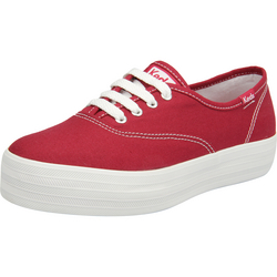 Tênis Flatform Keds Triple Canvas RB