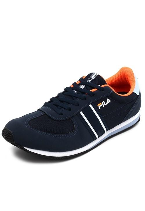 Tênis Jogging Fila Retro Sport Azul