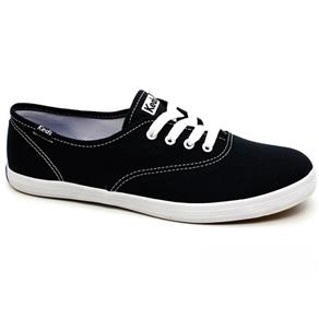 Tênis Keds Champion Woman Canvas KD100143 - PRETO - 33
