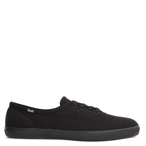 Tênis Keds Champion Woman Canvas Preto 40