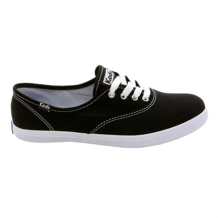 Tênis Keds Champion Woman Canvas Preto KD10014333