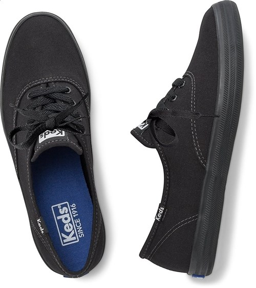 Tênis Keds Champion Woman Canvas Preto/preto (33)