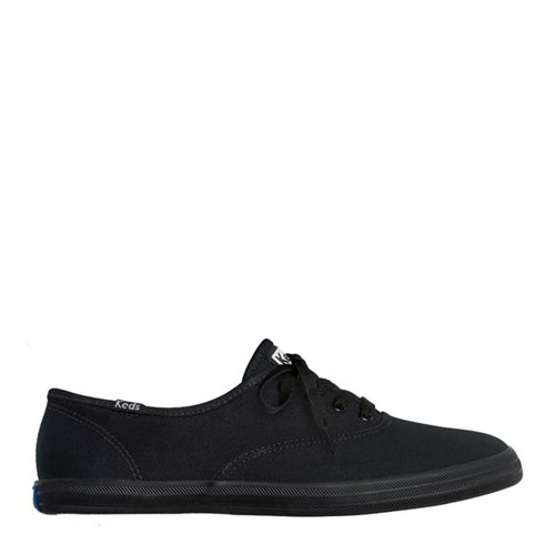 Tênis Keds Champion Woman Canvas Preto Preto