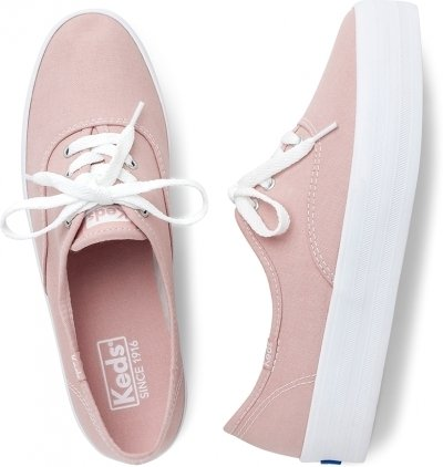 Tênis Keds Triple Canvas Rose (34)