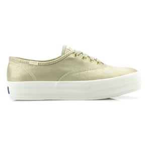Tênis Keds Triple Metalic Canvas KD794015 - 37 - BEGE