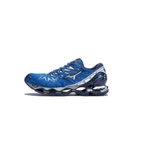 Tênis Mizuno Wave Prophecy 7 - Azul e Cinza (Azul, 38)