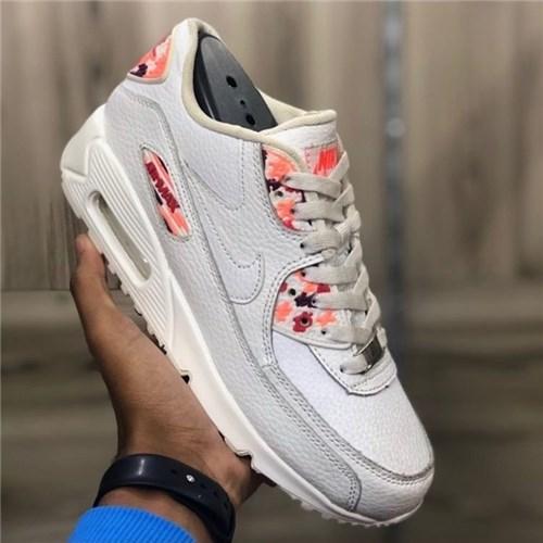Tênis Nike Air Max 90 (Branco, 34)
