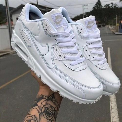 Tênis Nike Air Max 90 (Branco, 36)