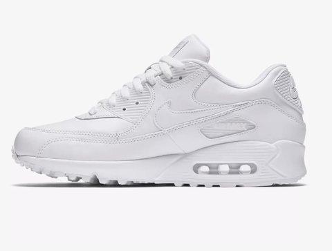 Tênis Nike Air Max 90 Couro Branco (39)
