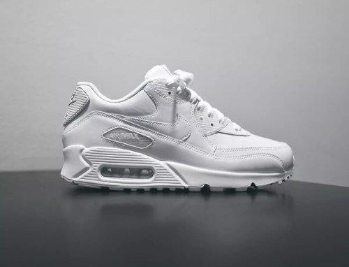 Tenis Nike Air Max 90 Couro Branco (Branco, 39)
