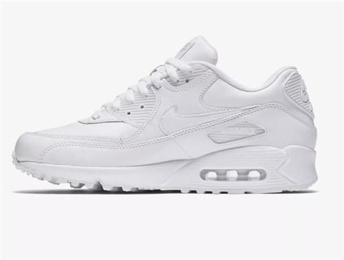 Tênis Nike Air Max 90 Leather Branco (43)