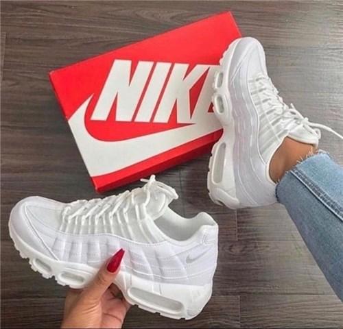 Tênis Nike Air Max 95 (Branco, 38)