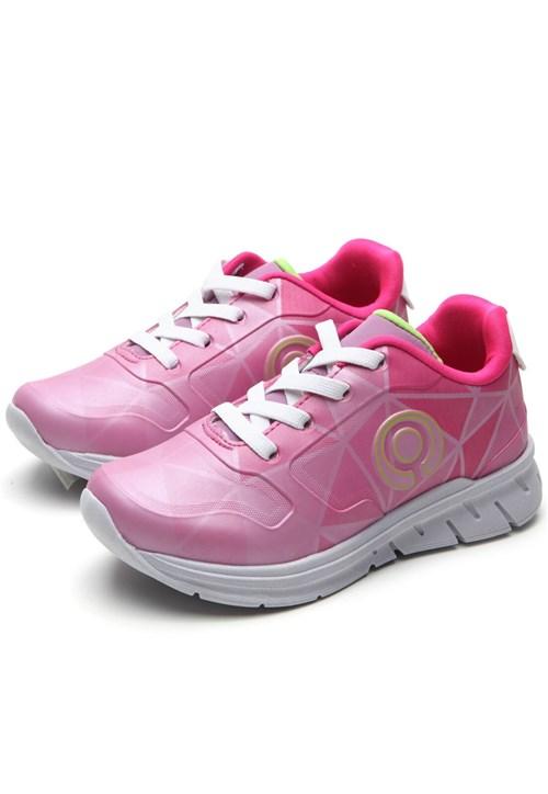 Tudo sobre 'Tênis Ortopé Menina Logo Rosa'