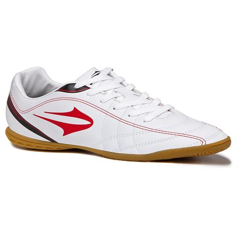 Tudo sobre 'Tênis Topper Futsal Titanium Iv Branco/Vermelho - 44'