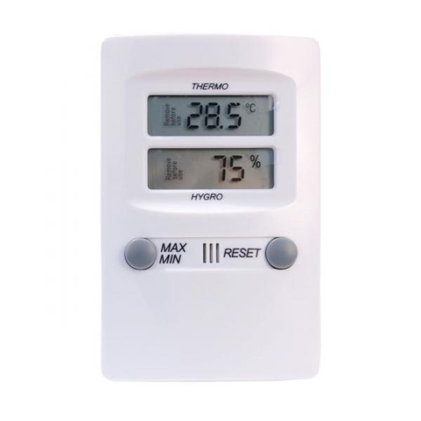 Termo-higrômetro Digital -10C+60:0,1C 10-99:1%UR Máxima e Mínima Incoterm