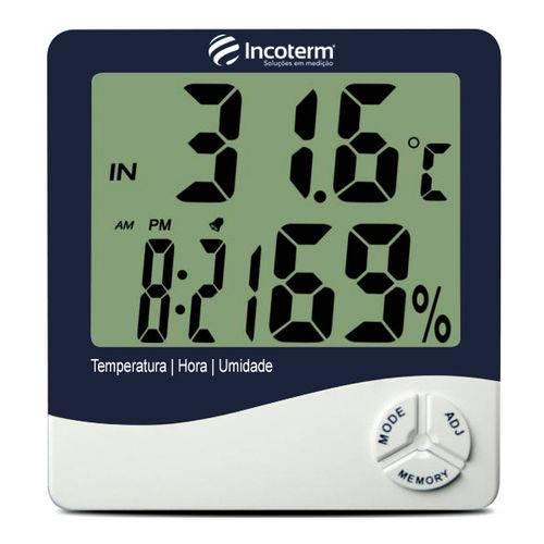 Tudo sobre 'Termo-higrômetro Digital com Máxima e Mínima Incoterm Th50'