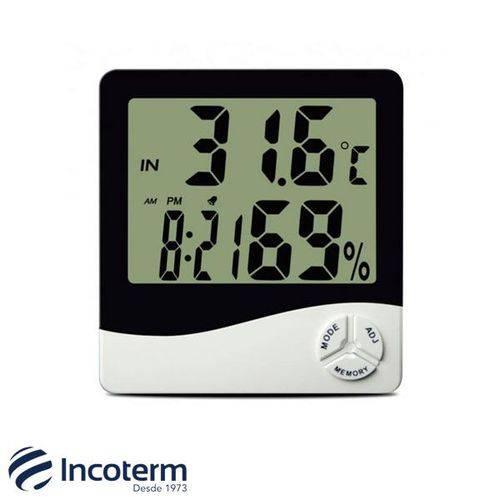 Termo-higrômetro Digital com Máxima e Mínima Th50 Incoterm
