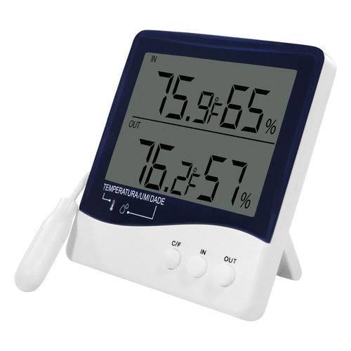 Termo-Higrômetro Digital Incoterm de Temperatura e Umidade