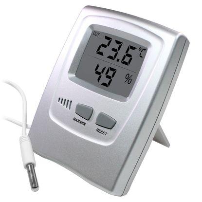 Tudo sobre 'Termo-Higrômetro Digital Incoterm Temperatura Int/Ext Max/Min e Umidade Interna'