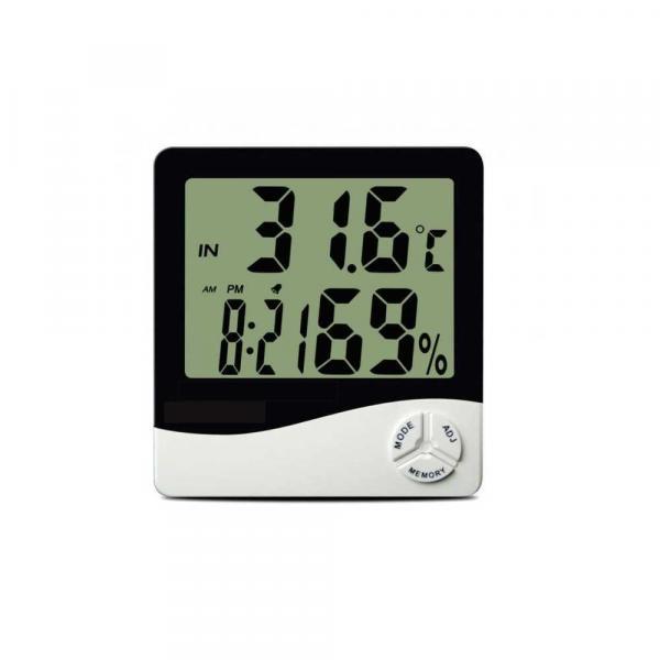 Termo-Higrômetro Digital Incoterm TH50 com Máxima e Mínima 9690.02.0.00