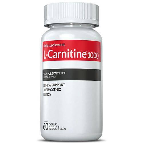 Termogênico L-Carnitine 1000mg 60 Cápsulas - Inove Nutrition