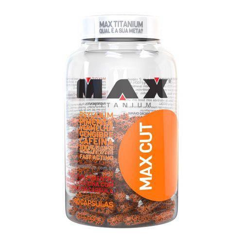 Termogênico Max CUT 60 Caps - Max Titanium