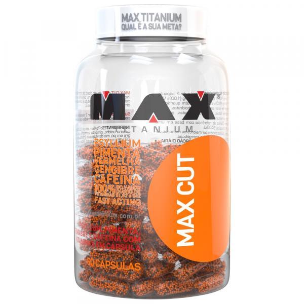 Termogenico Max Cut 60 Capsulas Max Titanium