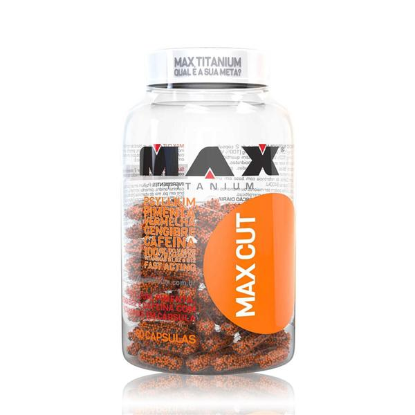 Termogênico Max Cut - 60 Cápsulas - Max Titanium