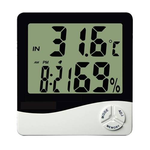 Termômetro Termo-Higrômetro Digital Th50 Temperatura e Umidade Interna - Incoterm