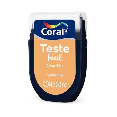 Tudo sobre 'Teste Fácil Tintas Coral 30ml - Doce Mel'
