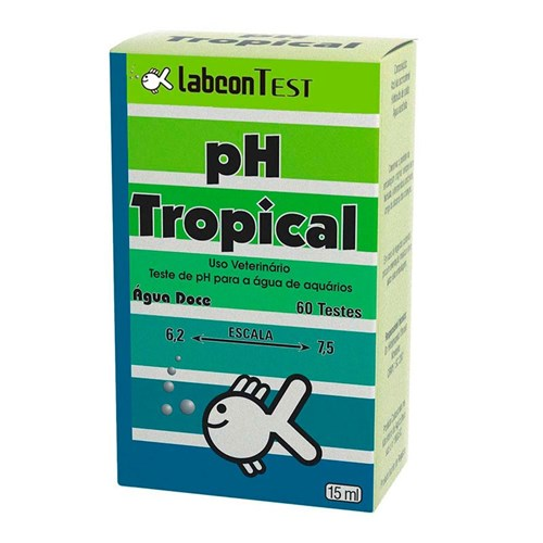 Tudo sobre 'Teste PH Tropical Labcon Test 15ml'